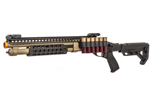 JAG ARMS SCATTERGUN SPX2 TAN GAS SHOTGUN AIRSOFT GUN