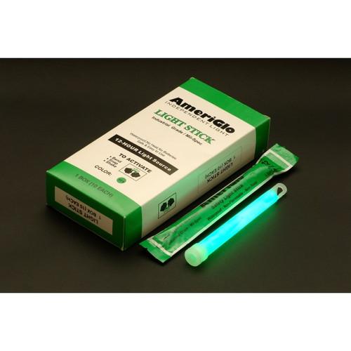 "Ameriglo 6"" 12hr. Green Light Stick -- Box"
