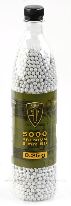 Elite force .25g BBs 5000 Bottle
