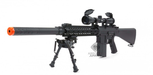 A&K SR-25 RIS Sniper DMR Rifle  -- ENHANCED VERSION