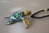 Hawksbill Sea Turtle on black cord