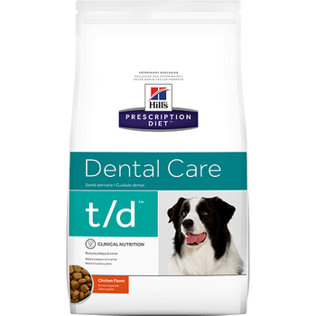 Hill's Canine t/d (25 lb. Dry)