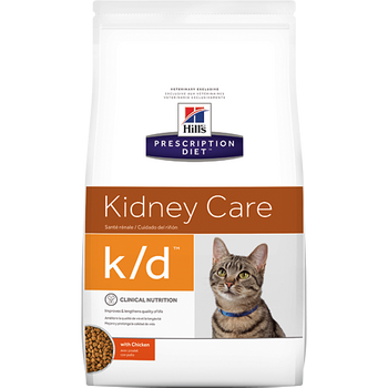 Hill's Feline k/d with Chicken (4 lb. Dry)