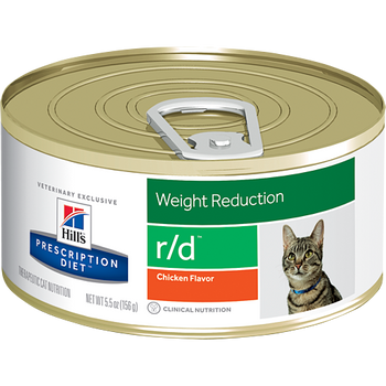 Hill's Feline r/d Chicken Flavor (24 x 5.5 oz. Cans)