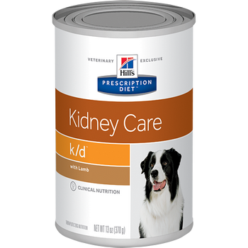 Hill's Canine k/d with Lamb (12 x 13 oz. Cans)