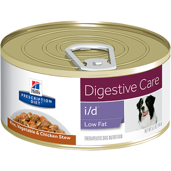 Hill's Canine i/d Low Fat Rice, Veg. & Chicken Stew (24 x 5.5 oz. Cans)
