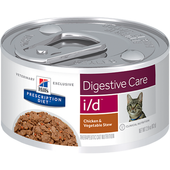 Hill's Feline i/d Chicken & Vegetable Stew (24 x 2.9 oz. Cans)