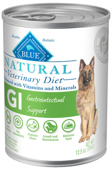 BLUE Natural GI Gastrointestinal Support Canine (12/12.5oz Cans)