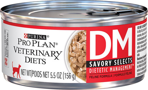 Purina DM Feline Savory Selects (24 x 5.5 oz. Cans)