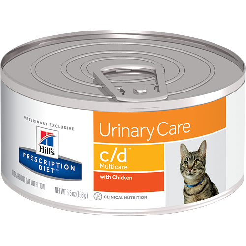 Hill's Feline c/d Multicare with Chicken (24 x 5.5 oz. Cans)