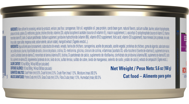 Royal Canin Feline Selected Protein PV Venison (24 X 5.6 oz. Cans)
