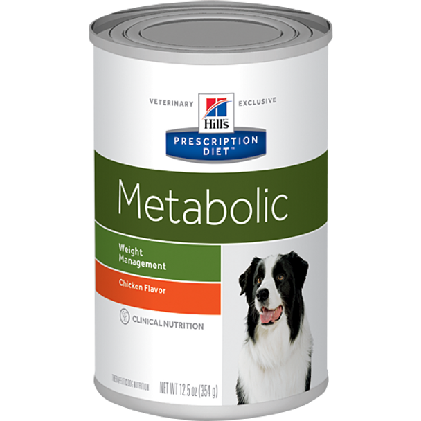 Hill's Canine Metabolic Chicken Flavor (12 x 13 oz. Cans)