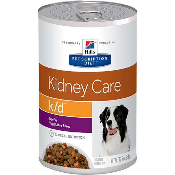 Hill's Canine k/d Beef & Vegetable Stew (12 x 12.5 oz. Cans)