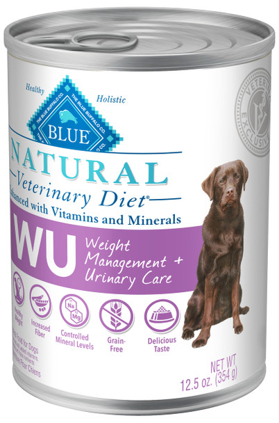 BLUE Natural WU Weight + Urinary Care K9 (12.5oz Cans)