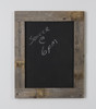 Chalkboard with Barnwood Frame, 29 x 23 - Natural