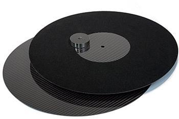 True Audiophile   Millennium M-LP-Mat CARBON LP MAT