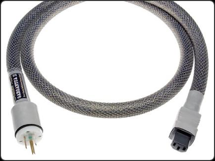 Acoustic Zen Gargantua II Power Cord. 7AWG, 6N Zero Crystal Copper. Now at True Audiophile.
