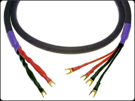 Acoustic Zen Hologram II Speaker Cable. 8AWG 6N Zero Crystal copper. Bi-wire. Now at True Audiophile