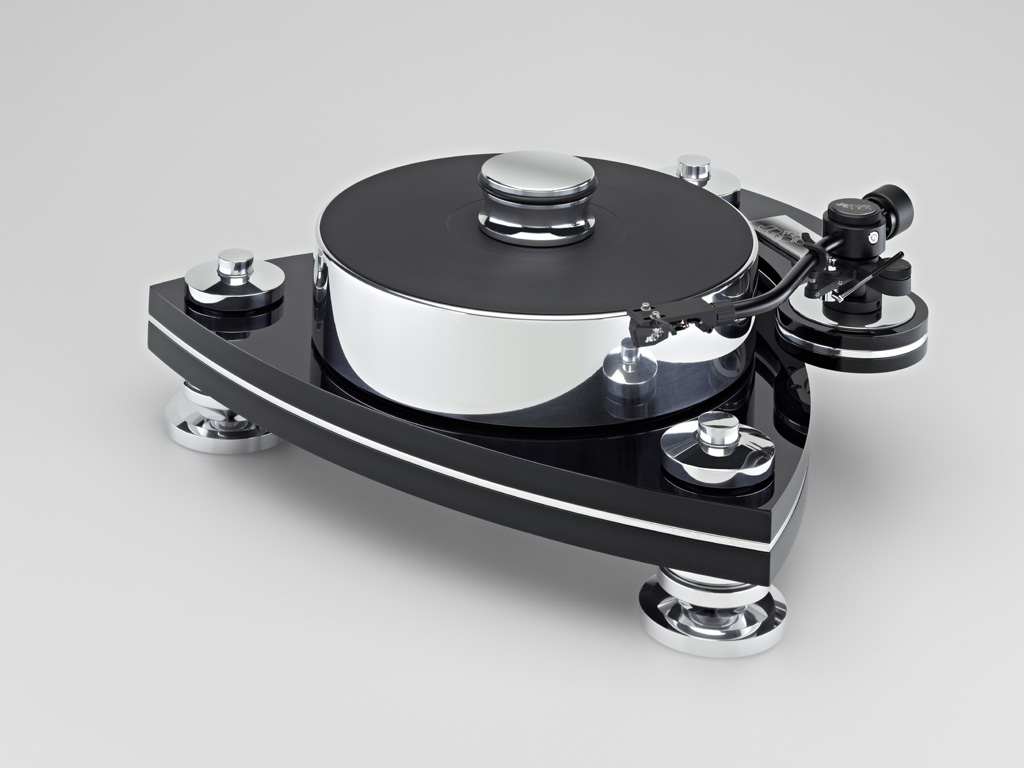 Transrotor Cresendo Nero Turntable. Now at True Audiophile.