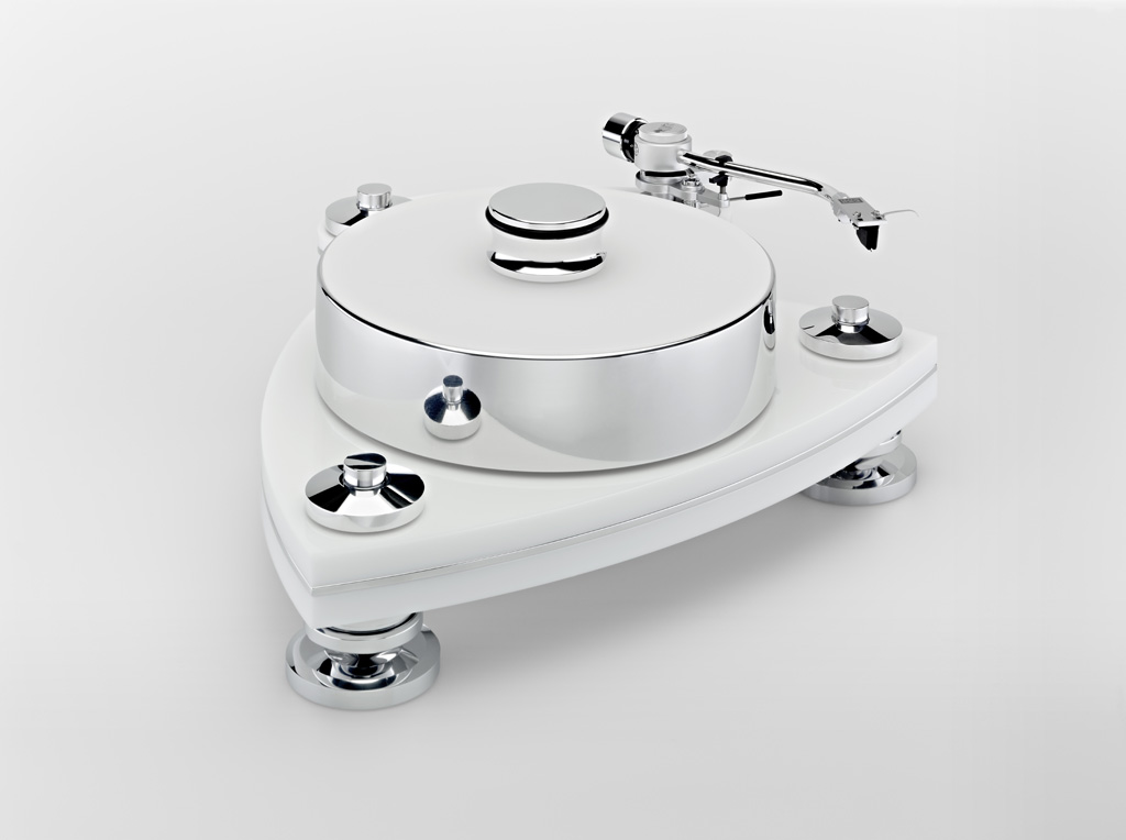 Transrotor Cresendo Blanco Turntable. Now at True Audiophile.