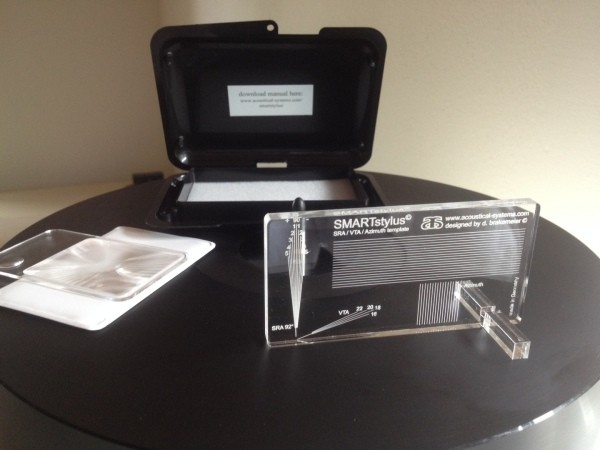 SMARTStylus Essential SRA/VTL/Azimuth set up by Acoustic Systems. Now at True Audiophile.