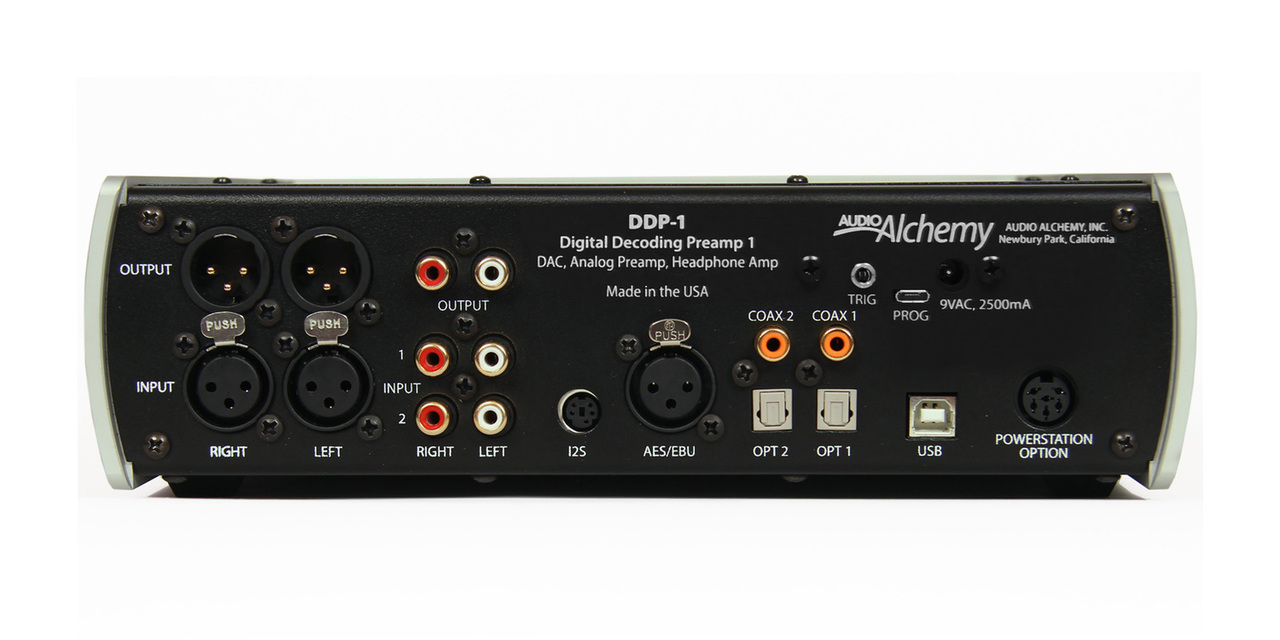 Audio Alchemy Pre/Dac DDP-1 connections. Now at True Audiophile.