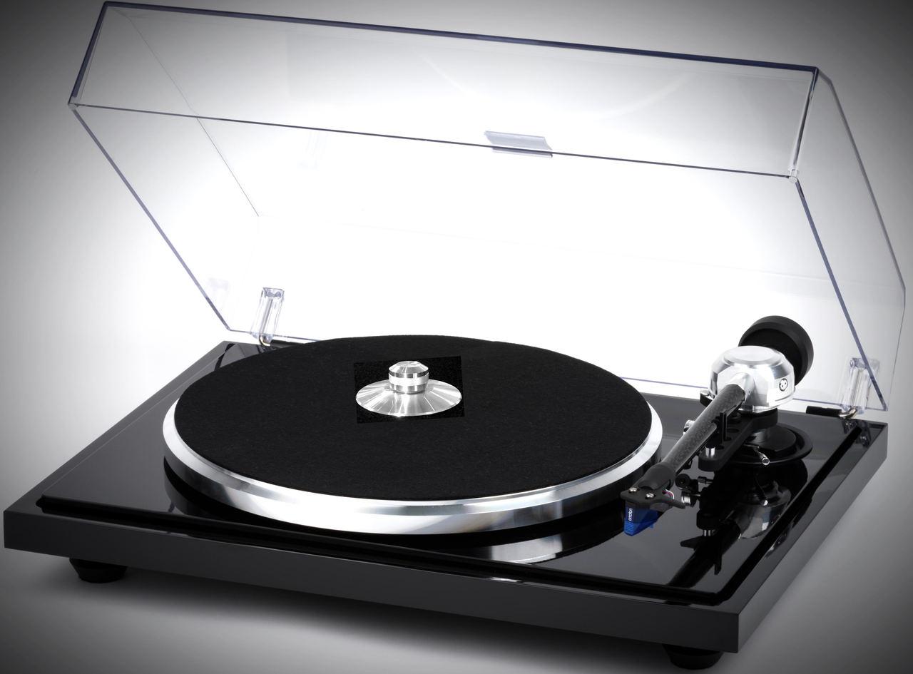 "EAT B-Sharp Turntable 9""Tonearm, Dust Cvr, Ortofon 2M Blue"