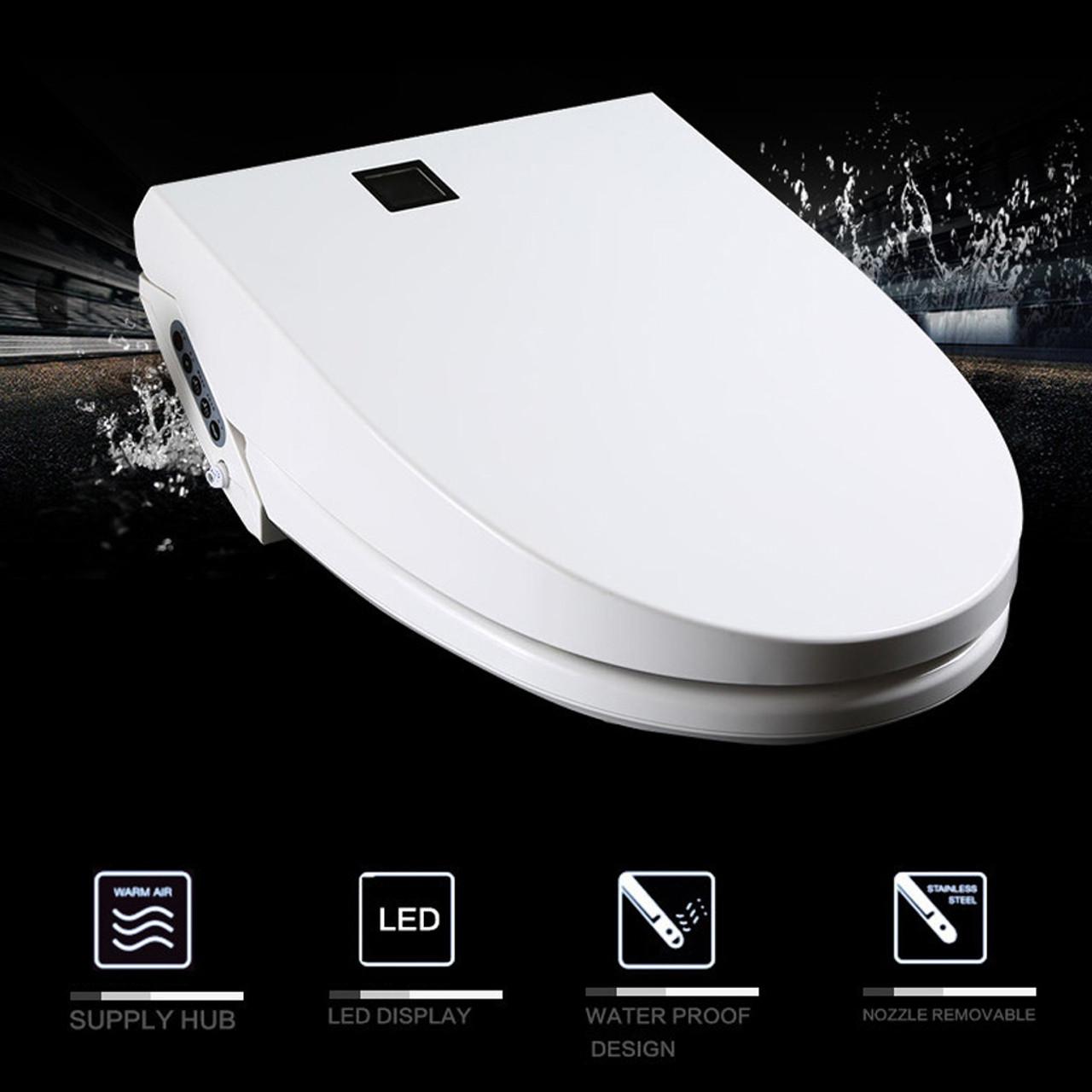 black and white toilet seat. Premium Euroto Intelligent Smart Toilet Seat Cover  Eurotousa com