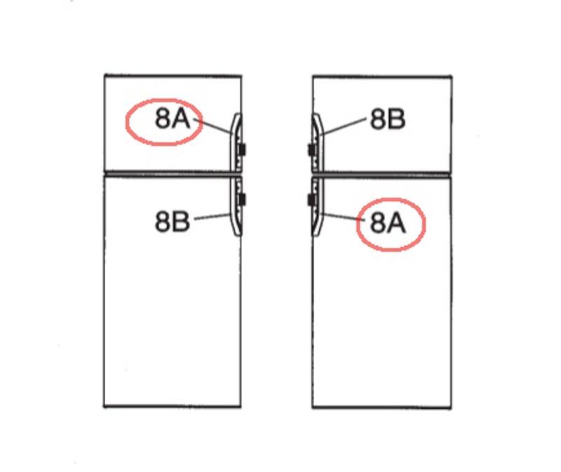 Dometic Refrigerator Door Handle 3851047021 - The Dometic Guy