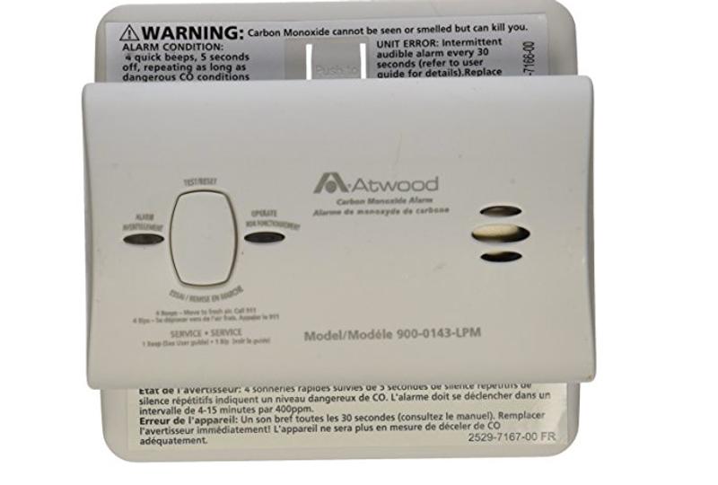 Atwood Carbon Monoxide Gas Alarm 32701