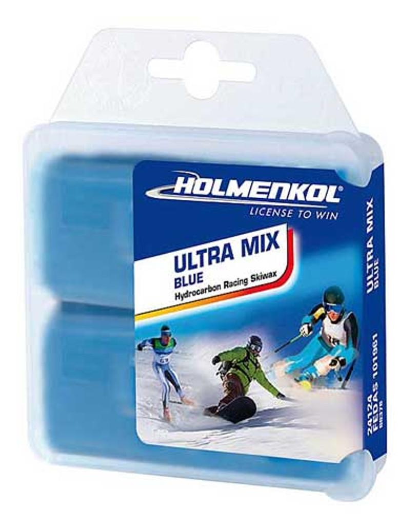 Holmenkol Ultra Mix Blue Wax