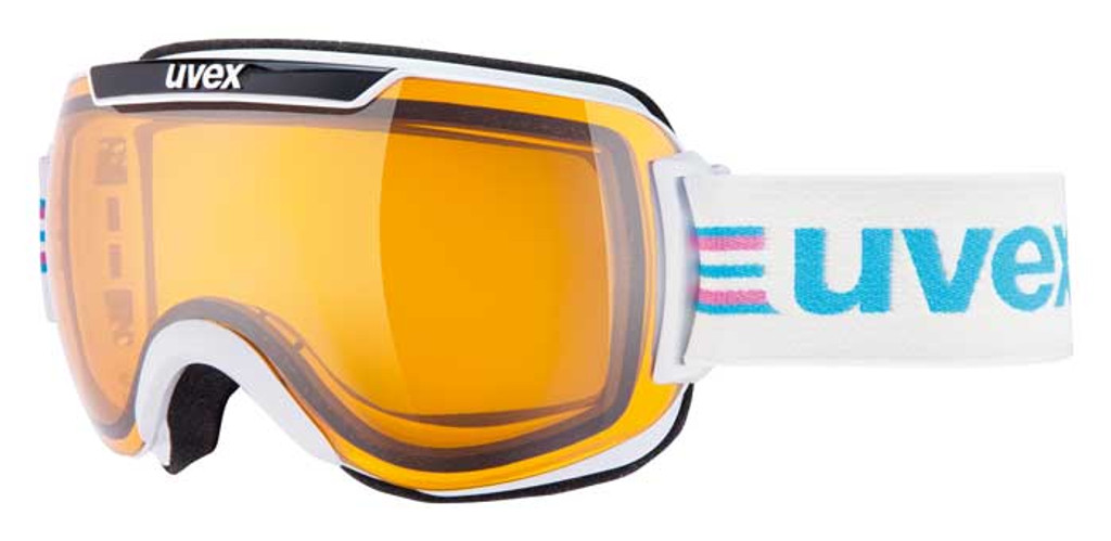 Uvex Downhill 2000 Race Goggles - White / Black