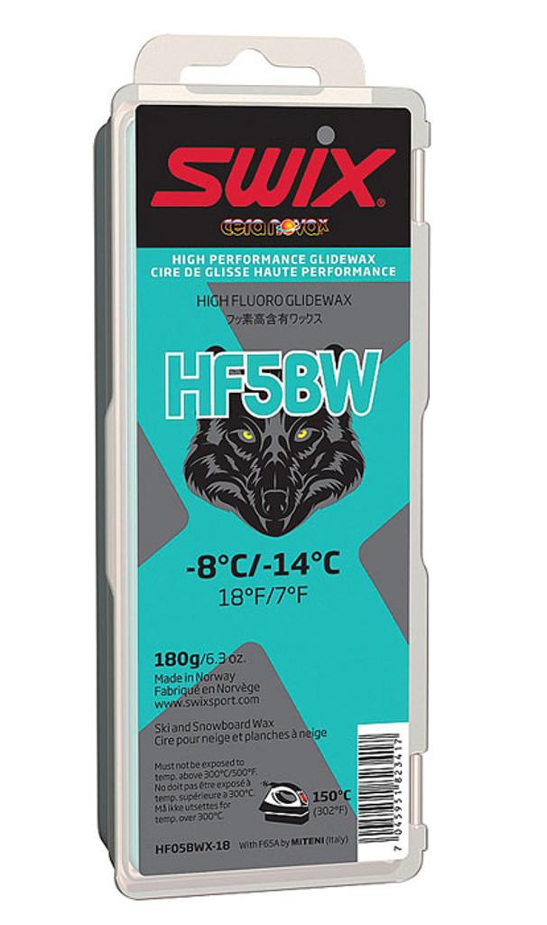 Swix HF5BWX High Fluoro Wax 180g