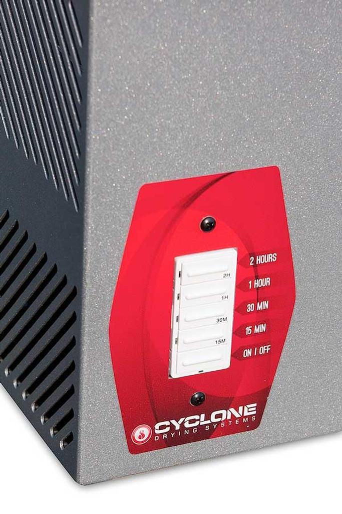 Cyclone 8 Pair Gear Dryer V2 - Controls