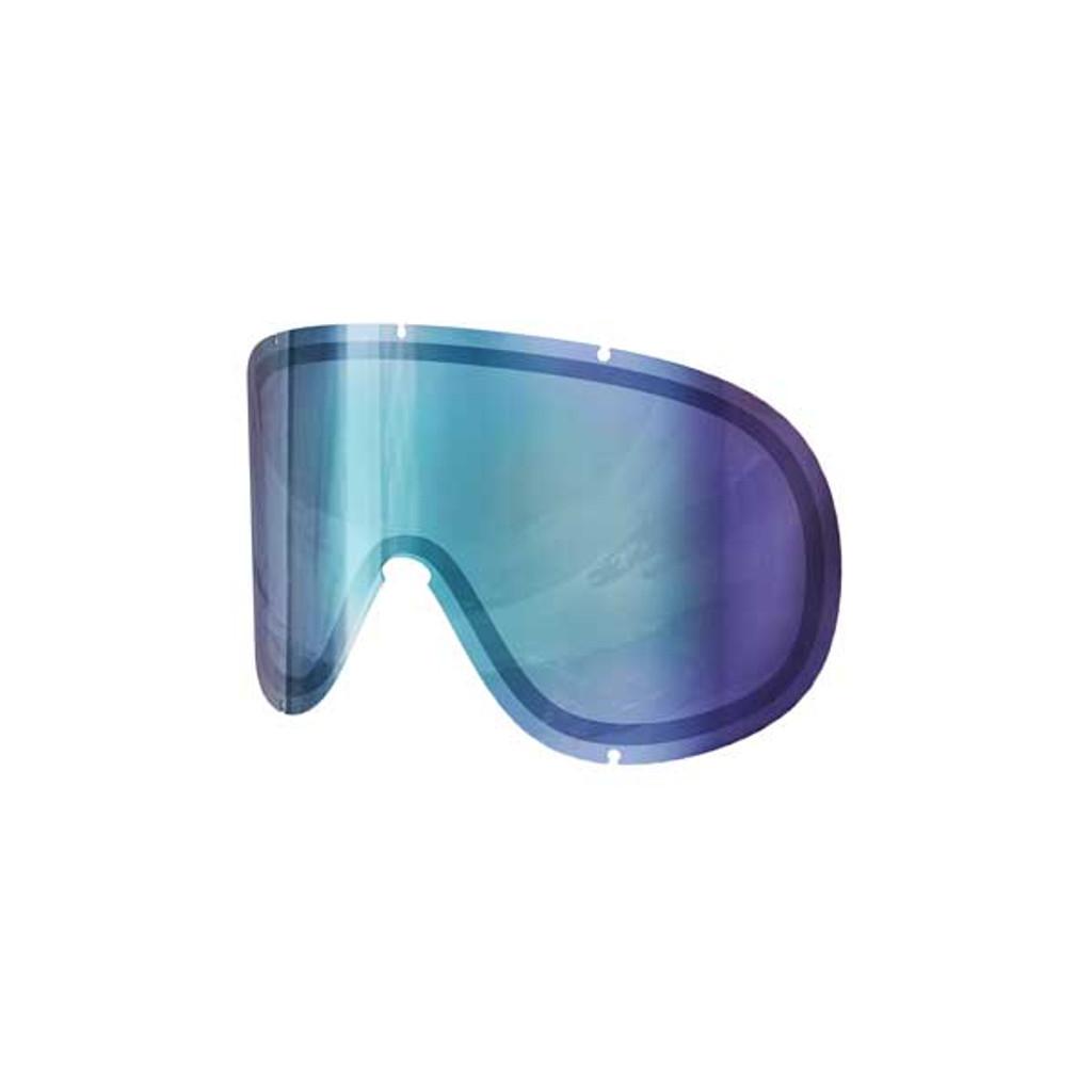 POC Retina Big Double Spare Lens - Bronze/Blue Mirror