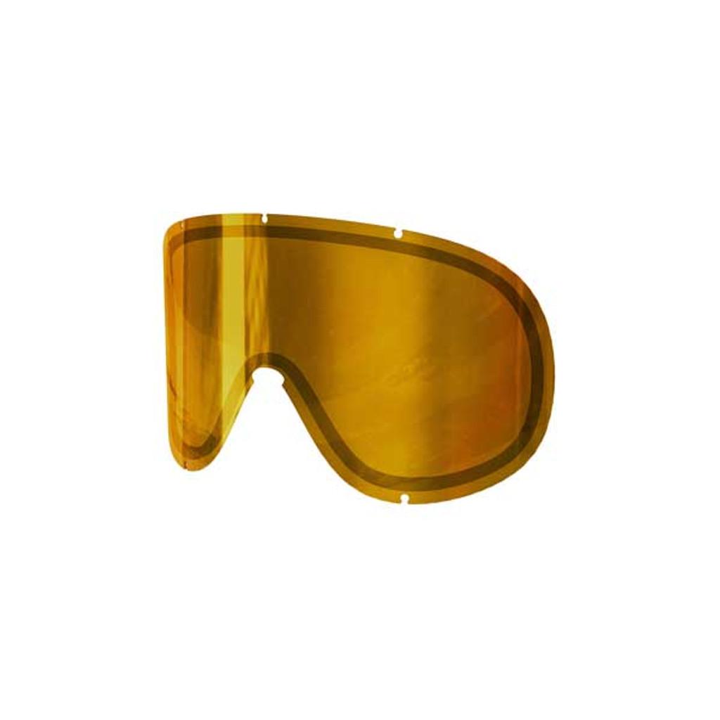 POC Retina Big Double Spare Lens - Pink/Gold Mirror