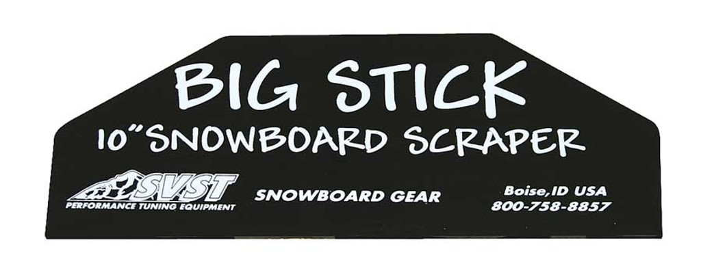 SVST Big Stick Snowboard Wax Scraper