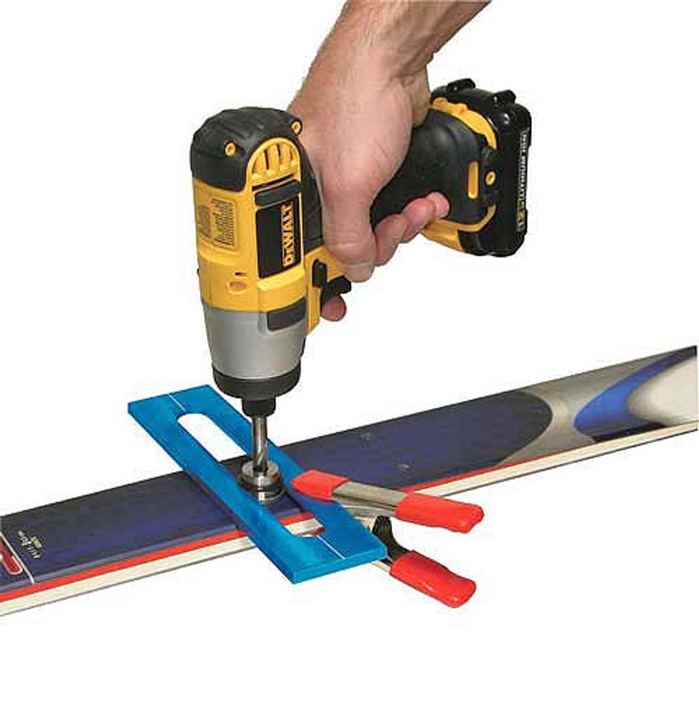 Sun Valley Ski Tools Custom Ski Mounting Jig