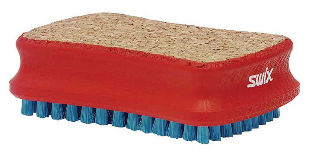 Swix Combi Cork-Soft Nylon Brush