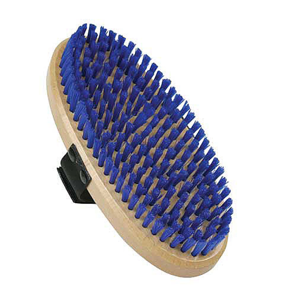 SVST Oval Stiff Nylon Wax Brush