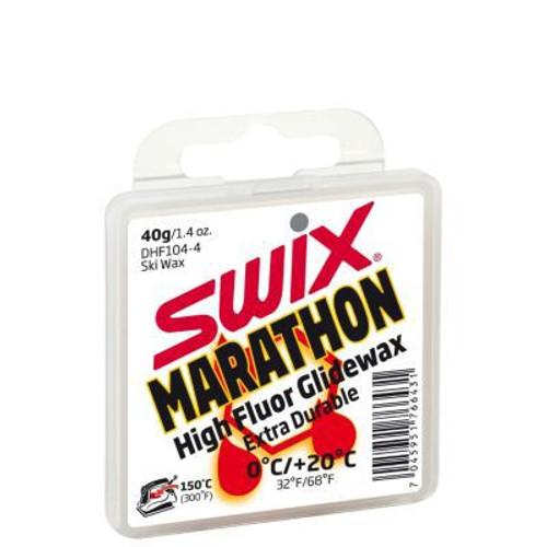 Swix Marathon High Fluor Glidewax (White) 40g