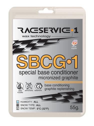 RaceService 1 SBCG1 Graphite Base Prep Wax 55g