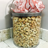 Roasted Salted Cashews -  Gift Can 4.24 lbs!