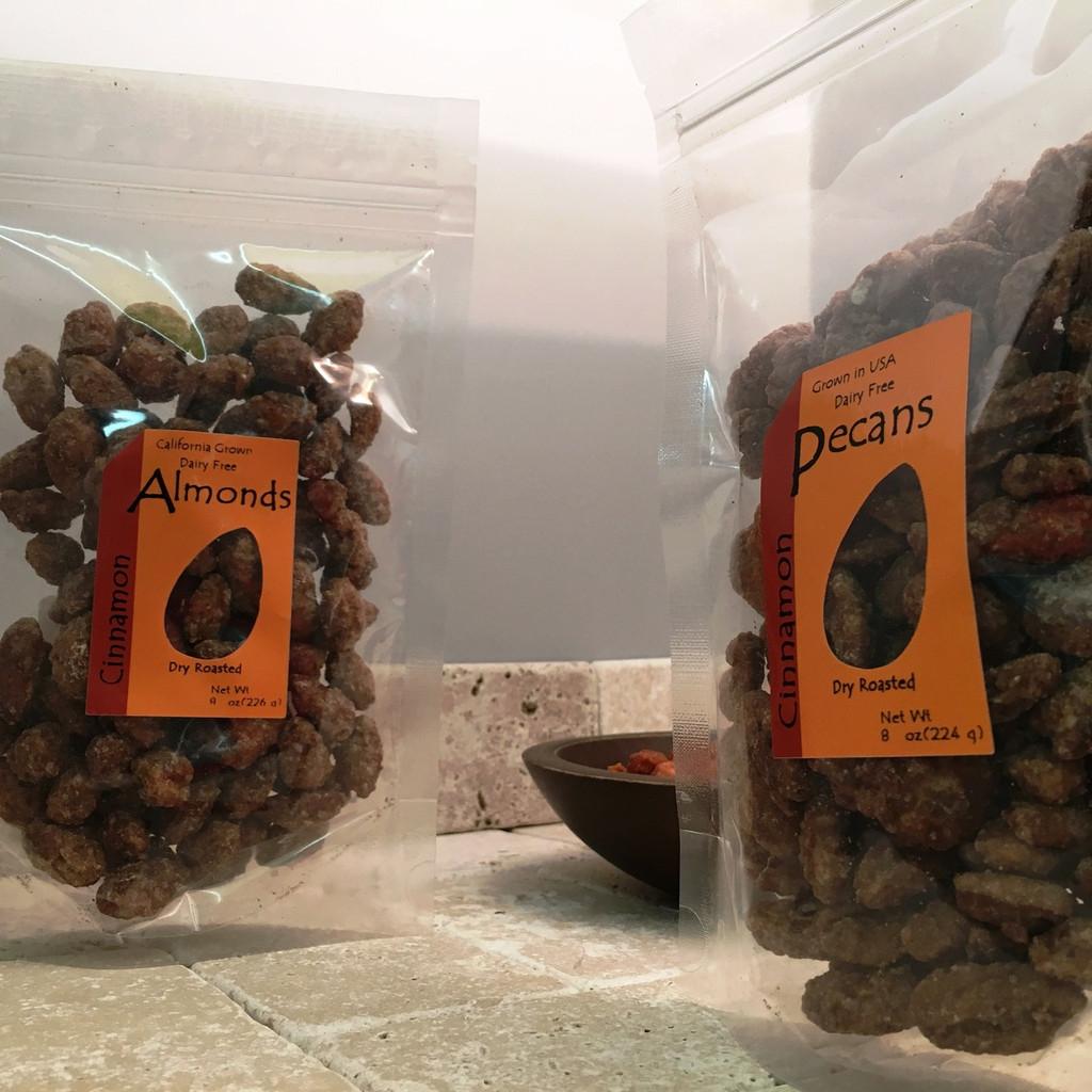 Almonds & Assortment Pack-Build Your Half Pound Bag!