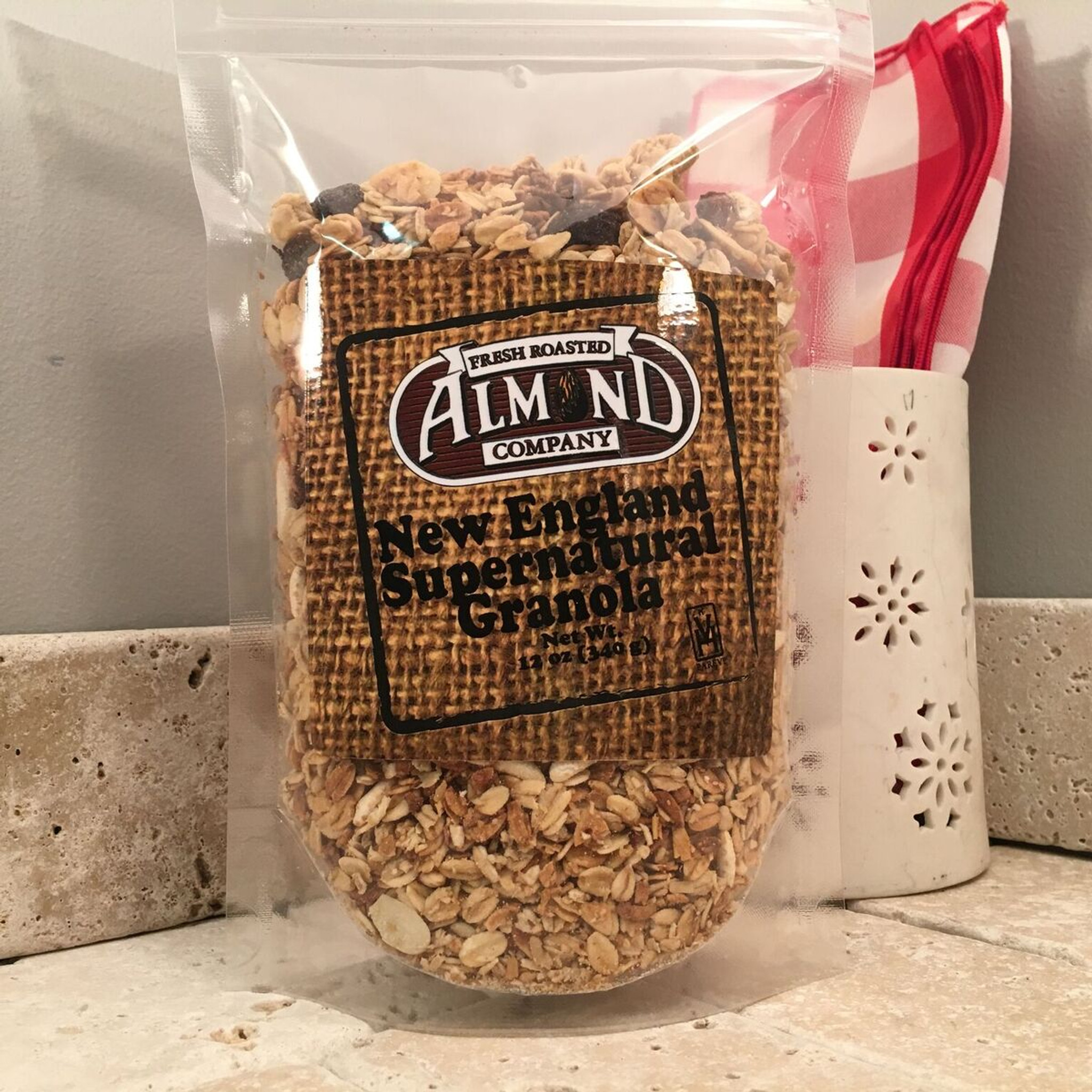 3 Bags - Granola (12 oz. stand-up, resealable bags)