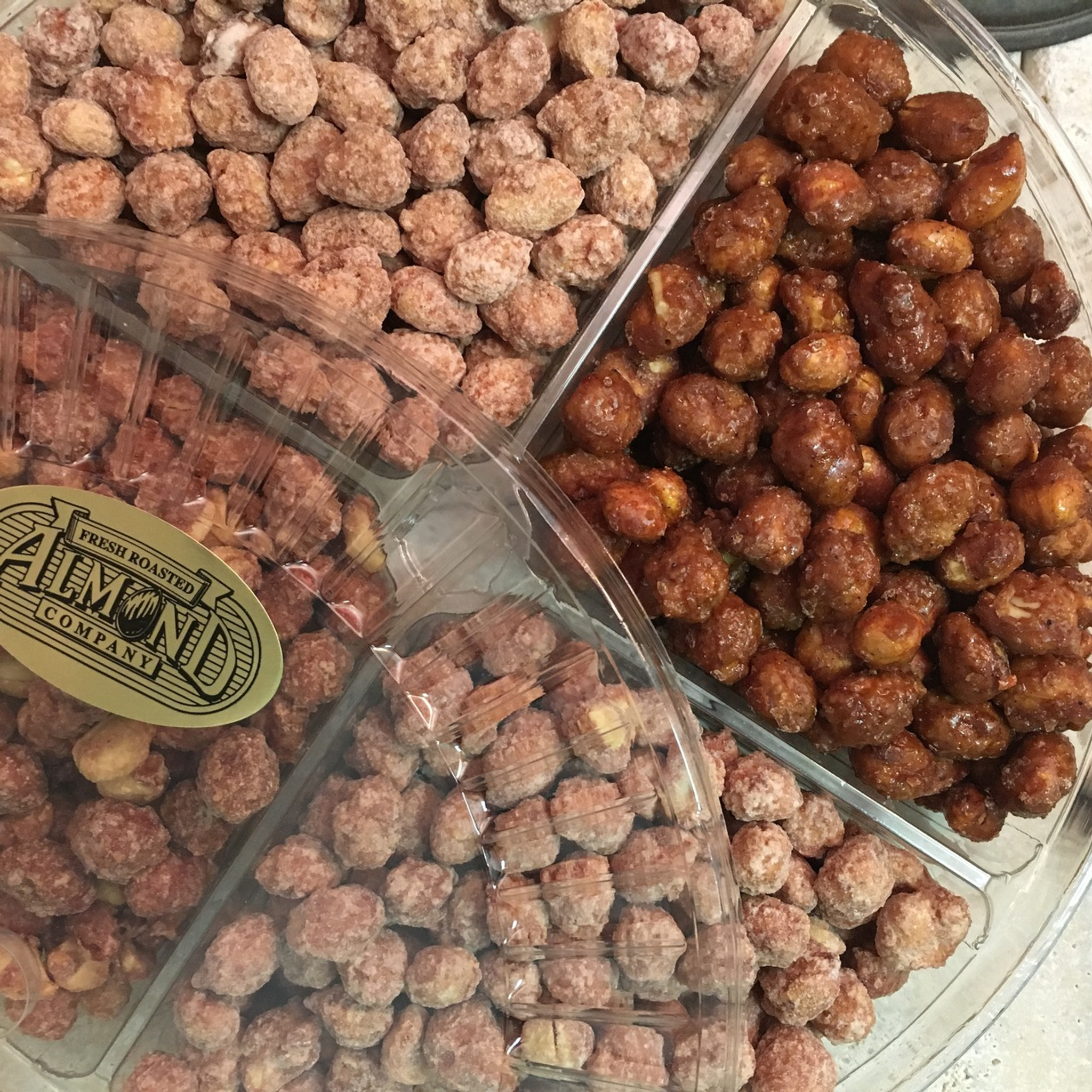 4 Compartment Tray  - Caribbean Nut Lovers