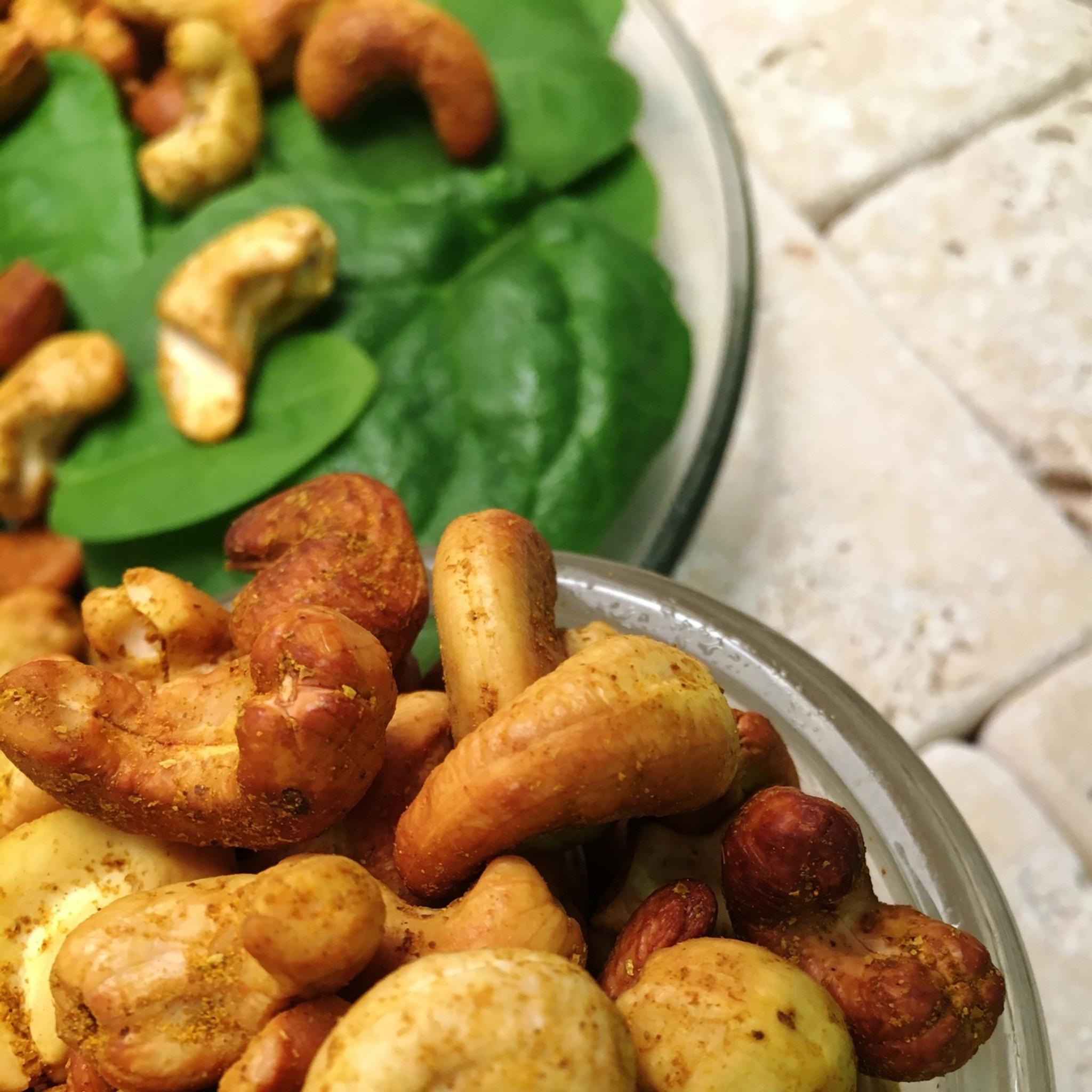 Curry Cashews