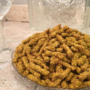 Sesame Sticks (Salted or Garlic Flavor), Bulk 3 lb. Box