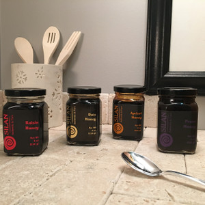 4 Flavor Variety Pack - Fruit Honey (four 8 oz. jars)