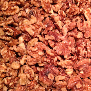 Lightly Glazed Walnuts - (Bulk, by the lb.)